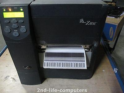 Zebra Z6m Plus Parallel Z6m00 0004 0000 Thermal Label