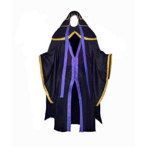 Anime Overlord Ainz Ooal Gown Momonga Costume Appearl cosplay customize F
