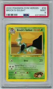 Mint-PSA-9-Brock-039-s-Golbat-39-132-Unlimited-2000-Gym-Heroes-VintagePokemon-Wotc