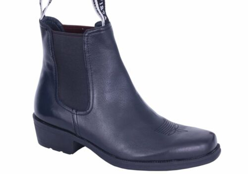Brand New Slatters Ranch Mens Comfortable Leather Dress Boots