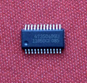 1pcs SI4735-D60-GU SI4735D60GU IC circuito integrato 4735D60GU