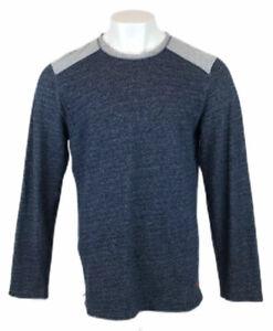 Tommy Bahama Pullover blau grau Rundhalsausschnitt Sz Xl Herren