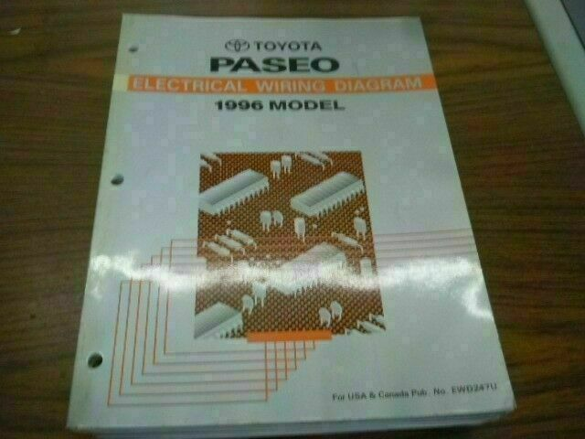 1996 Toyota Paseo Electrical Wiring Diagram Illi Shop