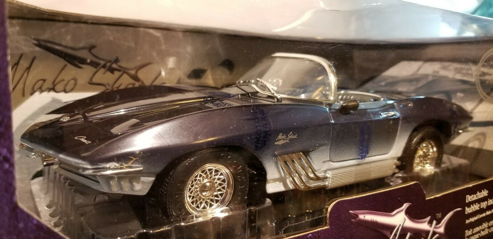 61 Corvette Mako Shark Concept - NIB 1 18