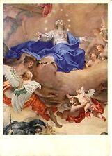 Alte Kunstpostkarte - Neresheim - Martin Knoller - Maria, die Gottesmutter