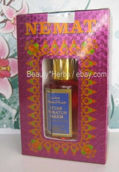 JANNATUM NAEM Indian Perfume Oil Attar 10 ml High Quality Alcohol Free by Nemat