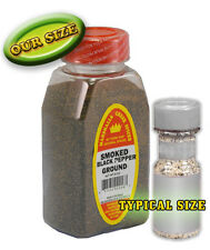 SMOKED GROUND BLACK PEPPER, FRESH PURE SPICES HERBS