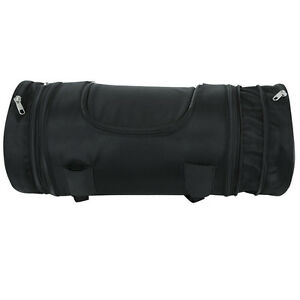 Motorcycle Riding Medium Expandable Sissy Bar Roll Bag Luggage 100 ...