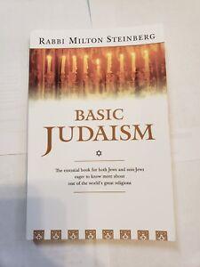 Basic-Judaism-by-Rabbi-Milton-Steinberg-1975-Paperback
