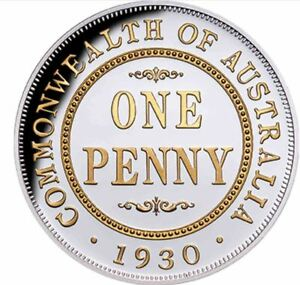 2020-PENNY-1930-90th-Anniversary-Gilded-1oz-Silver-Proof-Coin