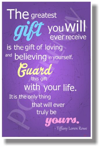 NEW Positive Attitude POSTER The Greatest Gift You Will Ever Receive..