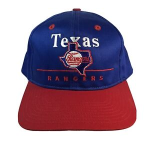 Vintage-MLB-Texas-Rangers-Wool-Adjustable-Hat-Sports-Baseball-Flat-Bill