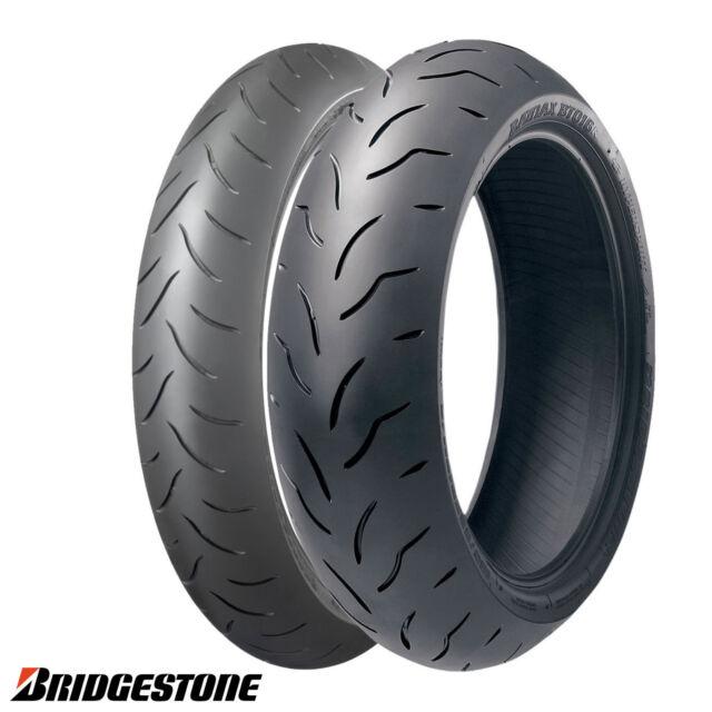 BT016 PRO 120 70 + 180 55 17 Bridgestone Moto Pneumatici Coppia Gomme Batltax