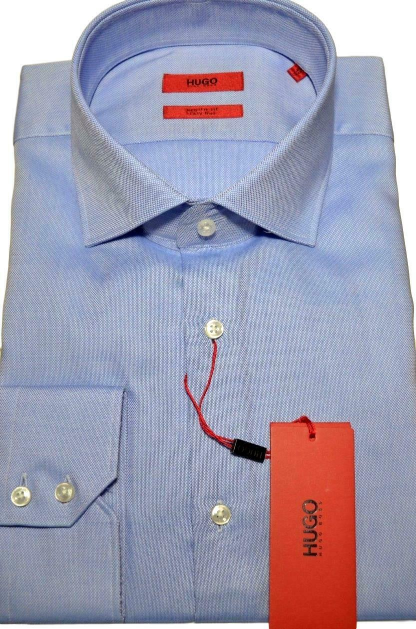 HUGO BOSS Camicia regular fit con motivo Oxford  Celeste  C-Gordon - 50372552  descuento online
