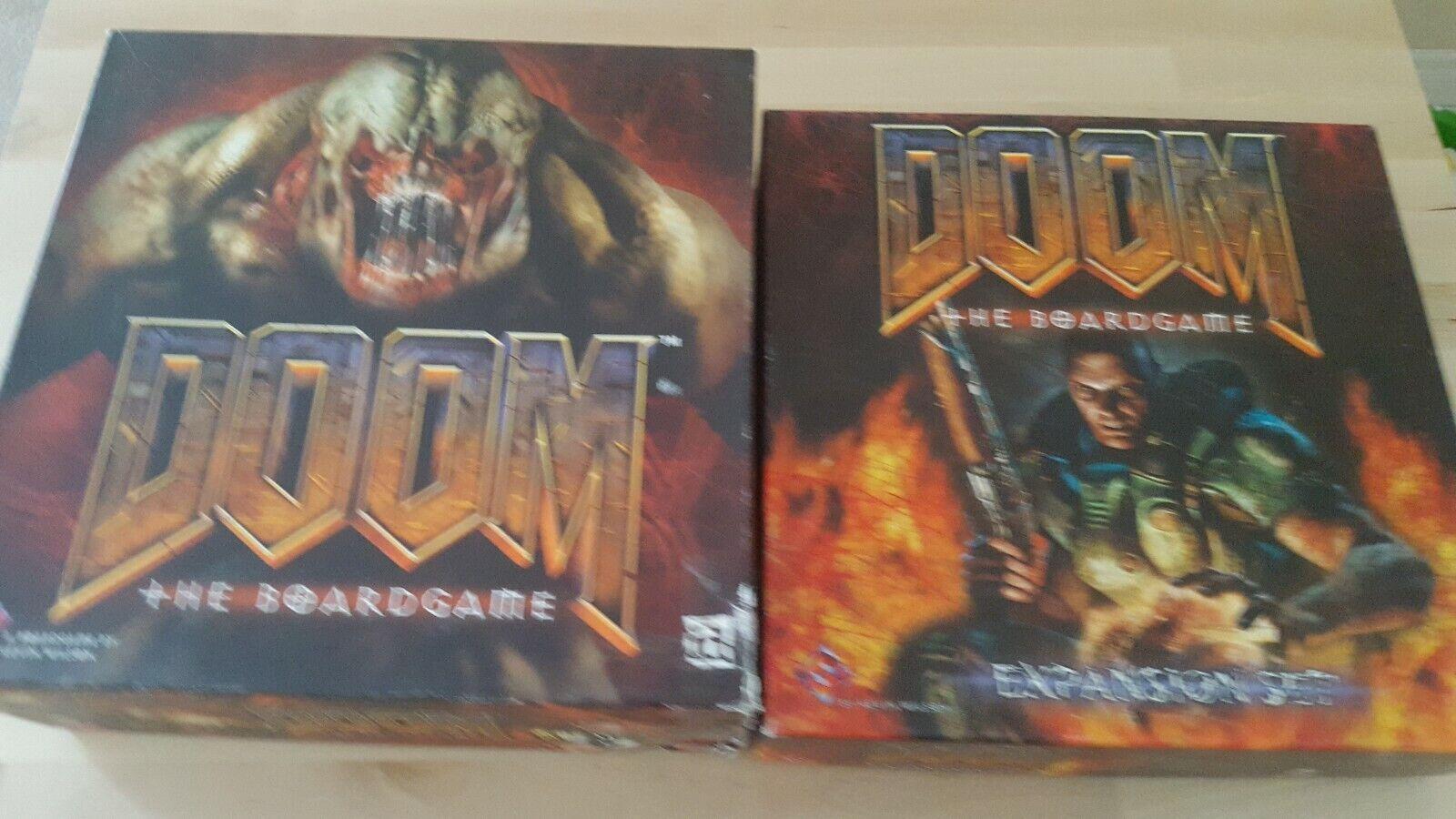 DOOM + EXPANSION SET Board Game FFG Fantasy Flight Games 1st Edition