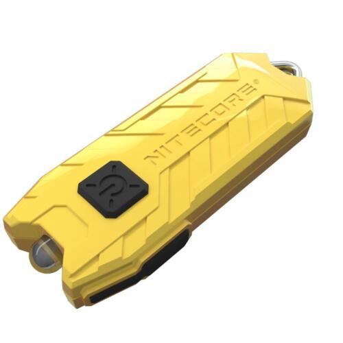 LEMON Nitecore TUBE 45 Lumens USB Rechargeable LED Keychain Flashlight NEW 2017