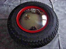 Pair New 8 Baby Moon Chrome Hub Caps Case Garden Tractor