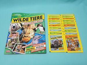 National-Geographic-Topps-Wilde-Tiere-Animals-Sticker-Sammelalbum-20-Tuten