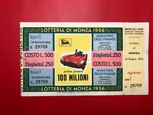 Lottery-by-Monza-1956-L-500-Award-100-Million-with-Service