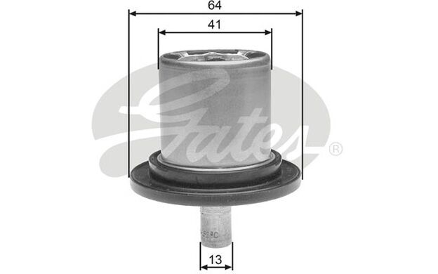 GATES Termostato, refrigerante RENAULT CLIO CITROEN XANTIA PEUGEOT TH25882G1