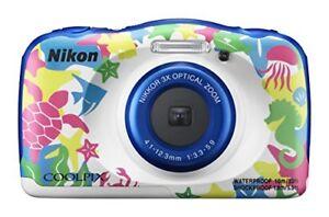 Nikon-COOLPIX-W100-marine-W100MR-Waterproof-Digital-Camera-NEW-Japan