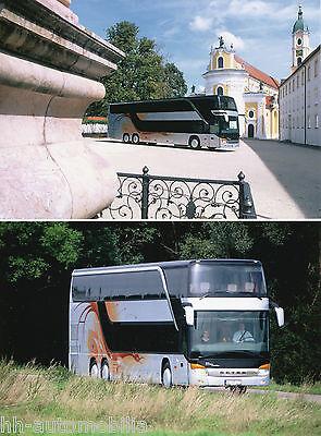 Originales Pressefoto 2002: Setra S 431 Dt Foto Bus Reisebus Press Photo Durchblutung Aktivieren Und Sehnen Und Knochen StäRken