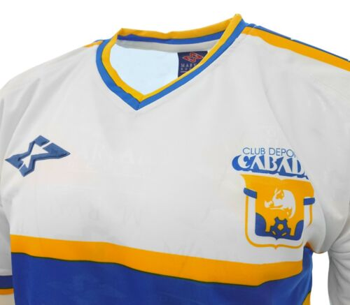 Club Deportivo Cabadas  Adult Men Soccer Jersey White  by Marval