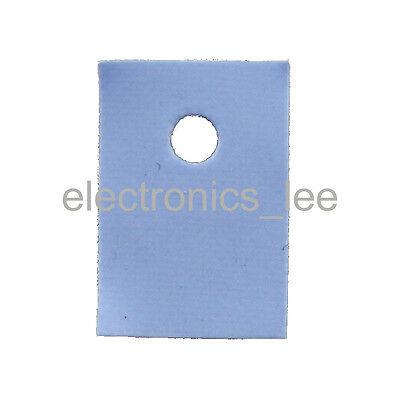 1000pcs TO-3P Silicon Rubber Pad  Insulation Chip Heatsink Thermal insulator