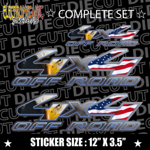 *NEW* 4X4 VINYL DECAL STICKER RAPTOR EXTREME SONOMA ROUGH COUNTRY F150 FX4 289