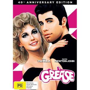 Grease-40th-Anniversary-Edition-NEW-DVD-Region-4-Australia-John-Travolta