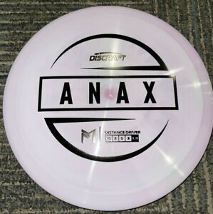 DISCRAFT ESP SWIRLY ANAX 5X PAUL MCBETH DISC GOLF DRIVER PP/BK 173-4G @ LSDISCS