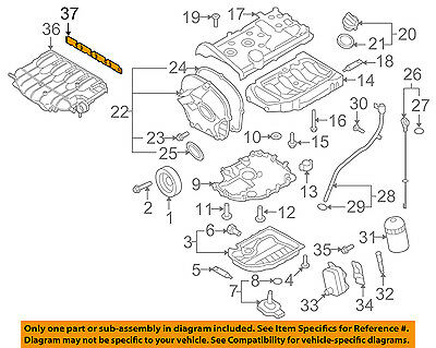 VW VOLKSWAGEN OEM 09-17 CC-Engine Intake Manifold Gasket 06F129717D | eBayeBay
