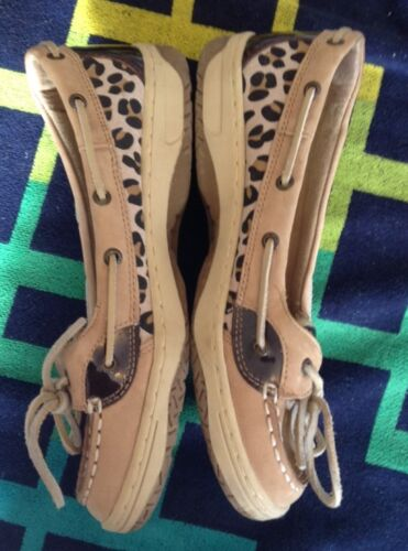 Boat Dimensioni Leopard Shoes Sperry 6 Top 5m Slider Zqx1ZUEX