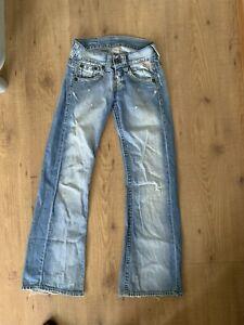 Replay 'Electra' Boyfriend Jeans W25 Leg 32 WITH FREE UK POSTAGE!