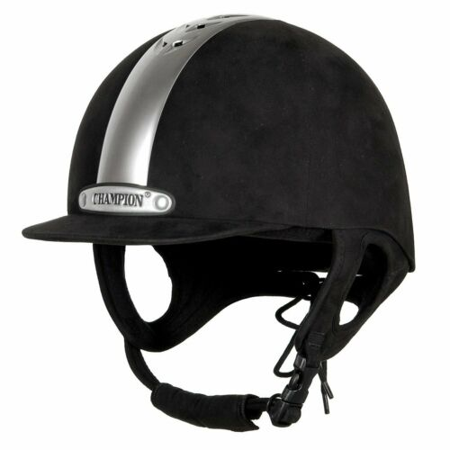 Champion Ventair Fixed Peak Riding Hat In Black Or Navy All Sizes Available