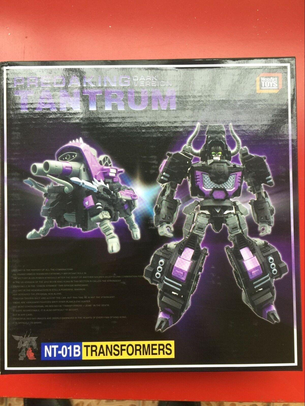 NeroArt giocattoli NT-01B & NT02B Prossoare Tantcorrere & Headstrong