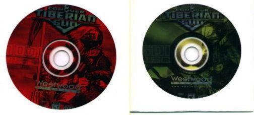 Command & Conquer Tiberian Sun  Fight on Dynamic Battlefields Brand New 2 CD Set