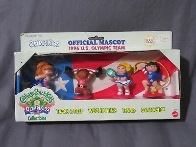 Brand New 1996 Us Olympic Team Cabbage Patch Kids Olympikids 69184 Mattel 1995