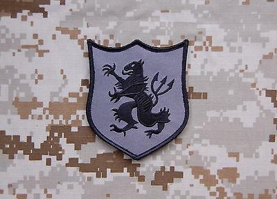Mas Grey DEVGRU Gold Squadron Lion Team Patch NSWDG SEAL Team 6 Zero Dark Thirty