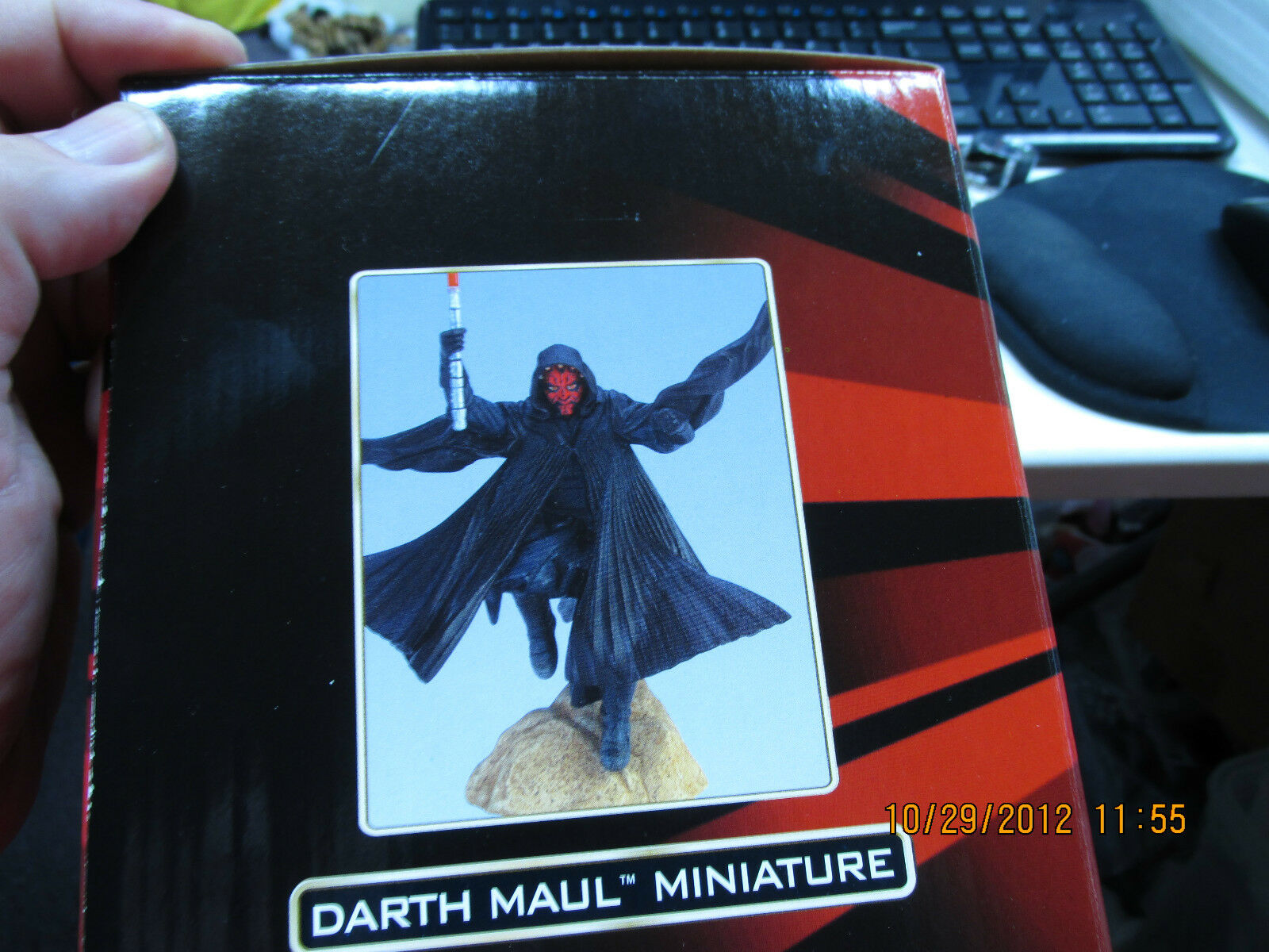 Star Wars Episode Episode Episode I Darth Maul Miniature Figurine By Applause MIB 1f73c1