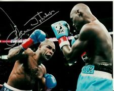 GLEN JOHNSON hand-signed BOXING IN-RING TITLE WIN 8x10 authentic w/ LIFETIME COA