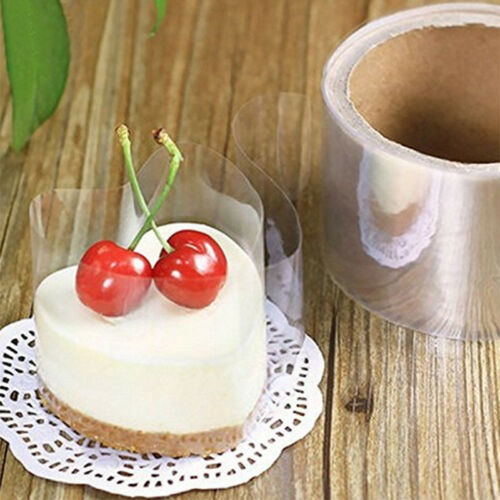 Kitchen Thick Clear Food Grade Acetate Cake Chocolate Candy Collar Baking Decor