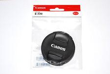 Canon OBIETTIVO COPERCHIO 77mm LENS CAP e-77 II con maniglia interna (Nuovo/Scatola Originale)