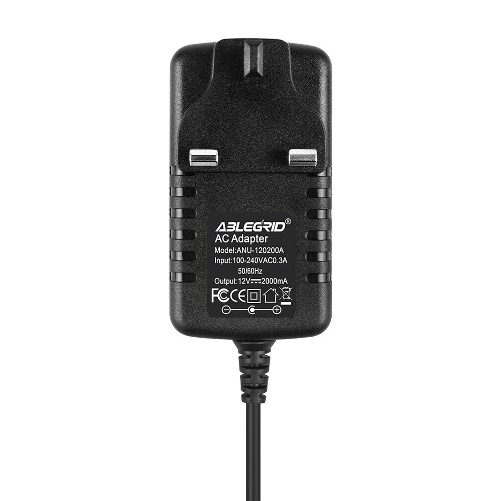 AC Adapter for Seagate 1TB 2TB External Hard Drive HDD Power Supply 12V2A 5.5mm