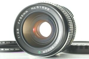 TOP-Nuovo-di-zecca-Mamiya-Sekor-LENTE-55mm-F-2-8-C-per-M645-1000S-TL-da-Super-Giappone-Pro