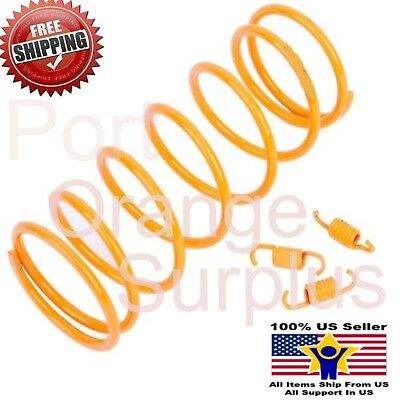 PERFORMANCE CLUTCH SPRINGS FOR CHINESE SCOOTER GY6 49CC 50CC 1500 RPM YELLOW NEW