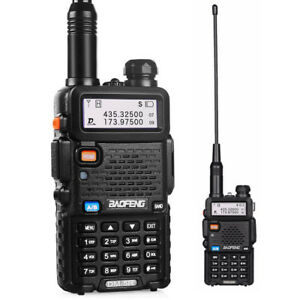 2x Baofeng DM-5R DMR Tier II Digital Two Way Radio VHF UHF Walkie Talkie 2000mAh