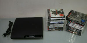 Playstation 3 Konsole + 22 Spiele, 232 GB Festplatte (G1113-R56)