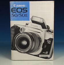 Canon EOS 50/50 e manuale d'uso German manual tedesco - (90199)