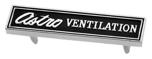 69 Chevelle /& 69-70 Firbird Dash Carrier Badge Astro Ventilation 1969-70 Camaro